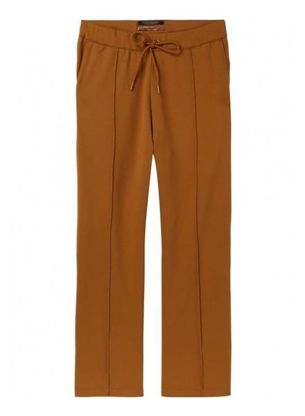 SCOTCH & SODA 144036 - Wide leg jogger in clean sweat quality - Bronzed Sand - 2023 - 18210283036