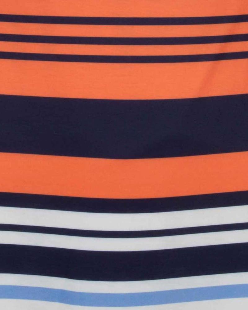 ESQUALO Top Stripes Multicolour