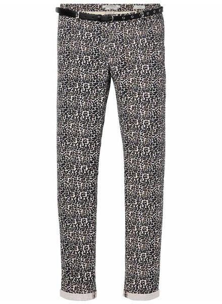 SCOTCH & SODA 144735 - 'Slim fit' stretch chino, sold with a belt - Combo A - 17 - 18210380735