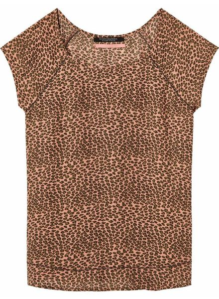 SCOTCH & SODA 143435 - Short sleeve top with special stitch detail - Combo A - 17 - 18210453435