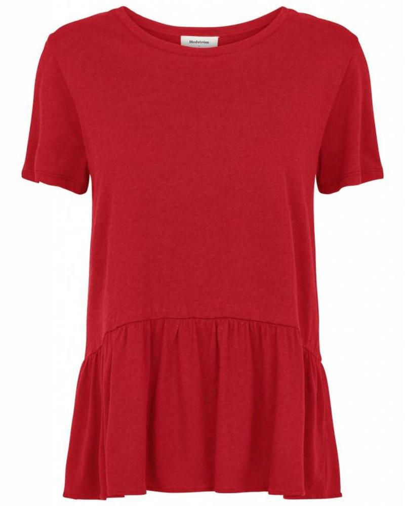 MODSTRÖM 53234 - Fatana t-shirt - Apple Red