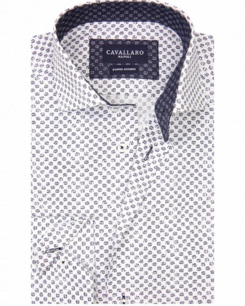 CAVALLARO Logo - White - 10603