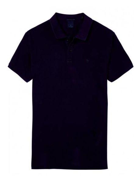 SCOTCH & SODA 142734 - Classic garment-dyed pique polo - Lilac - 706