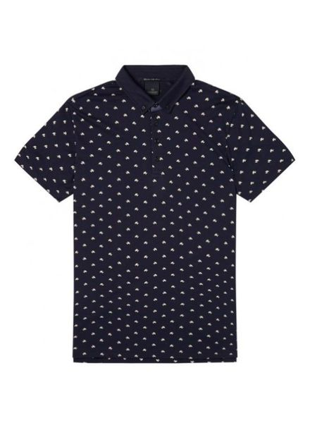 SCOTCH & SODA 142730 - Classic clean jersey polo with mini all-over print - Combo C - 219