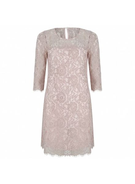 ESQUALO Dress lace - Pink