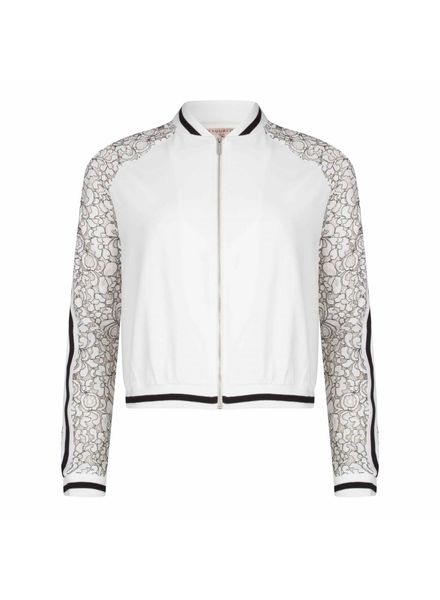 ESQUALO Bomber sweat lace - Off White