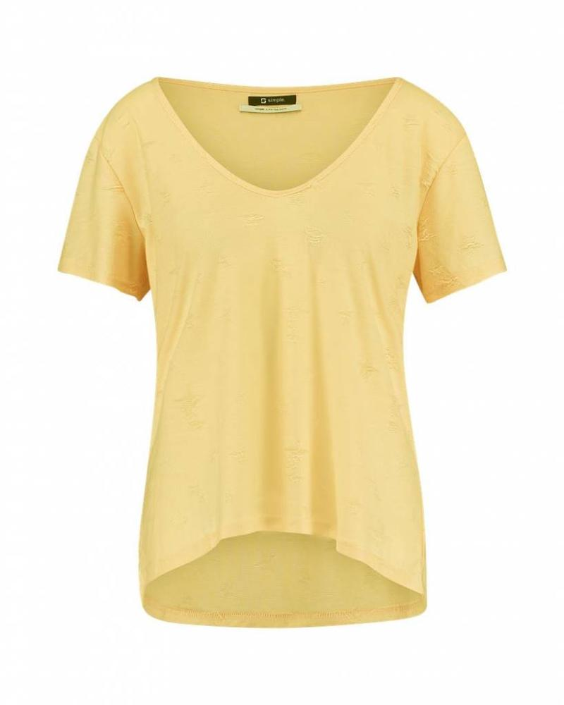 SIMPLE TOBIAS STAR - Top - Tender Yellow