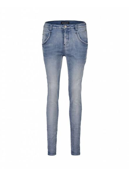 BIANCO 1117151 - Blue Denim-W16M-44+NCF - Alma Boyfriend