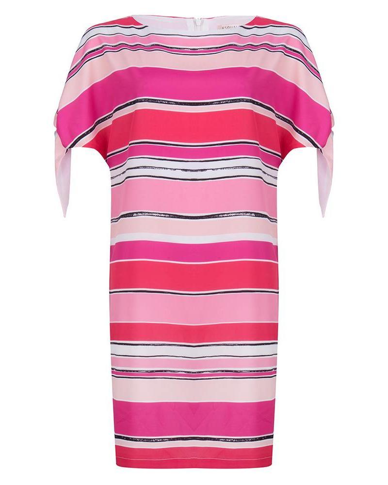 ESQUALO Dress stripes knot