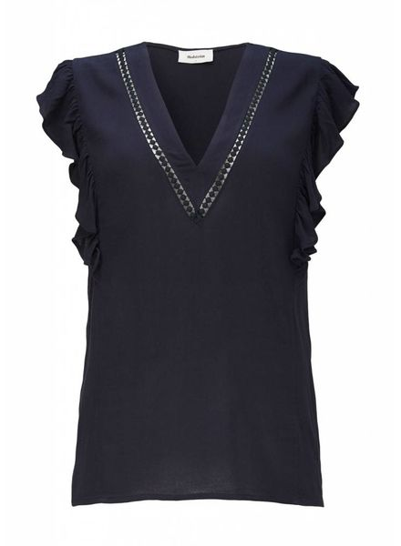 MODSTRÖM 53407 - Graham top - Navy Sky