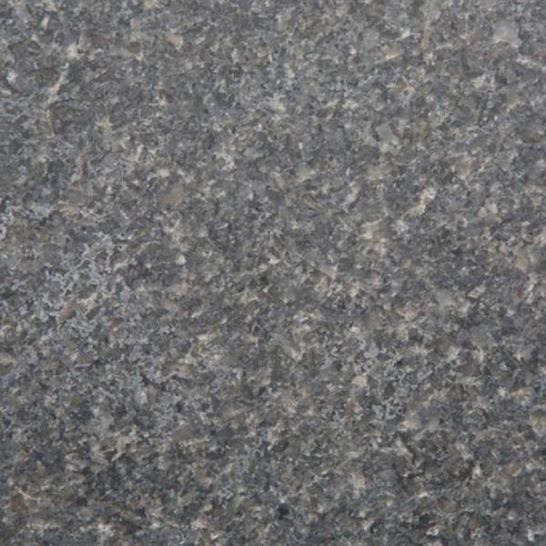Sample Impala Graniet gezoet 10x10x2 cm - materiaal proefstuk - monster gezoet graniet