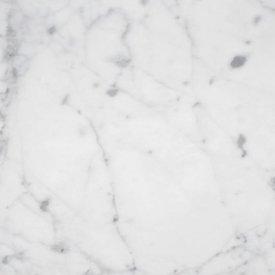 Sample Bianco Carrara marmer gepolijst 10x10x2 cm
