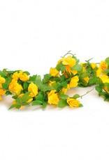 Bloemenslinger geel