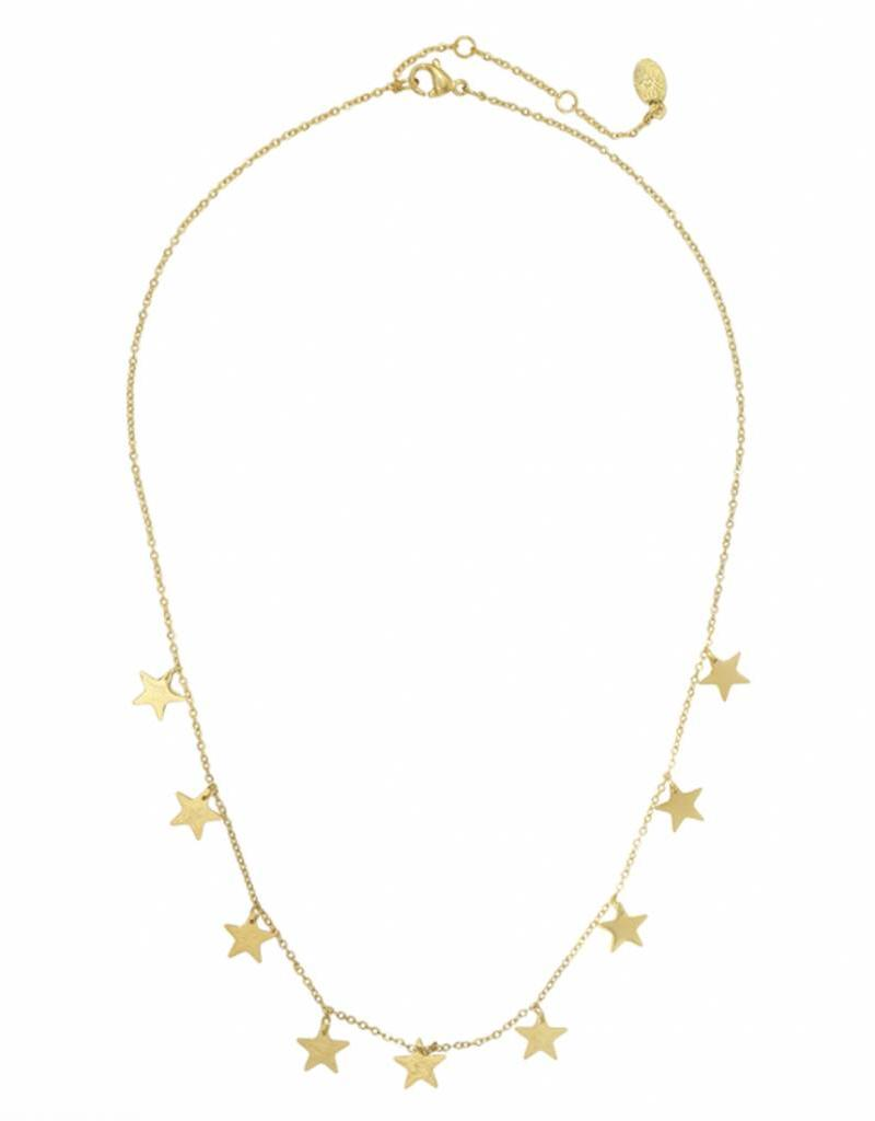 Gold Sky Full Of Stars Necklace