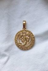 45 cm / Gold Celestial Charm Necklace