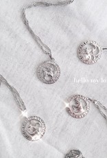 Silver Celestial Charm Necklace