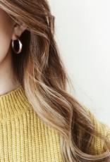 Gold Stella Hoop Earrings