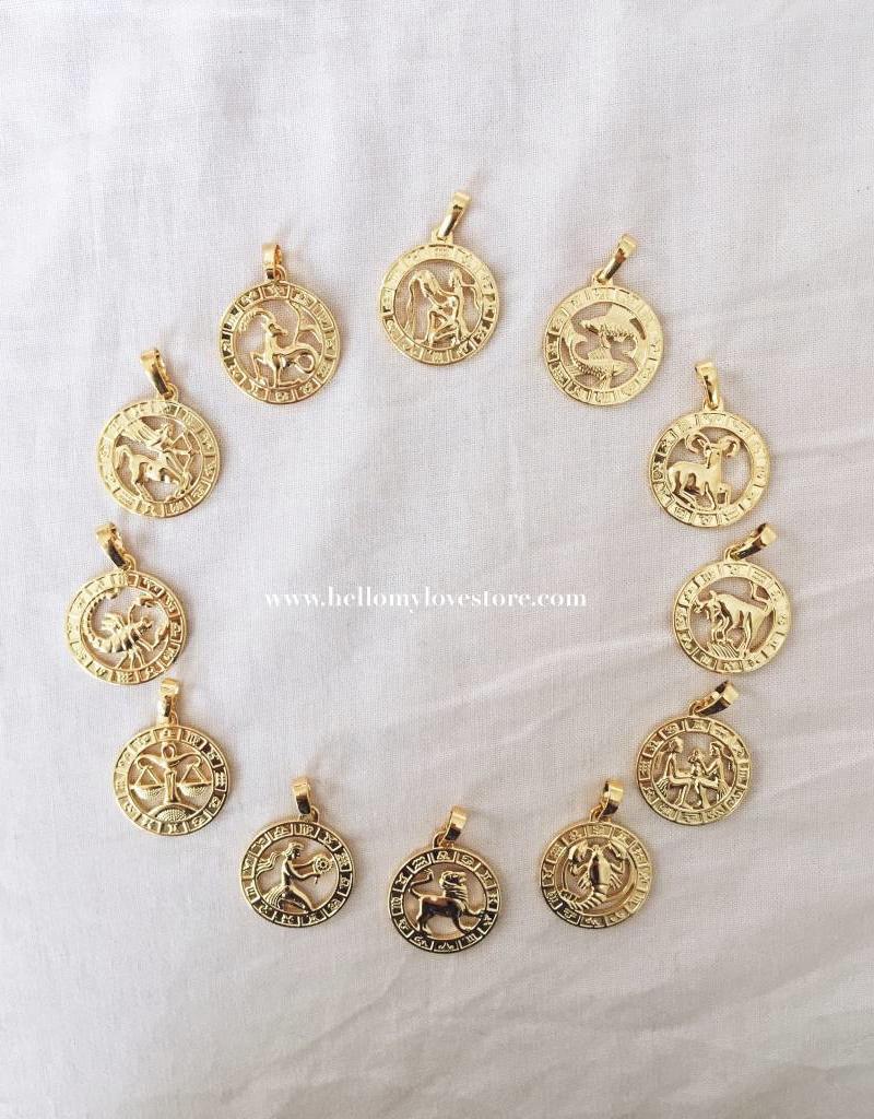60 cm / Gold Celestial Charm Necklace