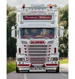 Scania Zonneklep Scania R Topline /Highline Coles 2 toplamp gaten