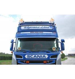 Scania Zonneklep Scania R Topline/Highline Coles 5 toplamp gaten