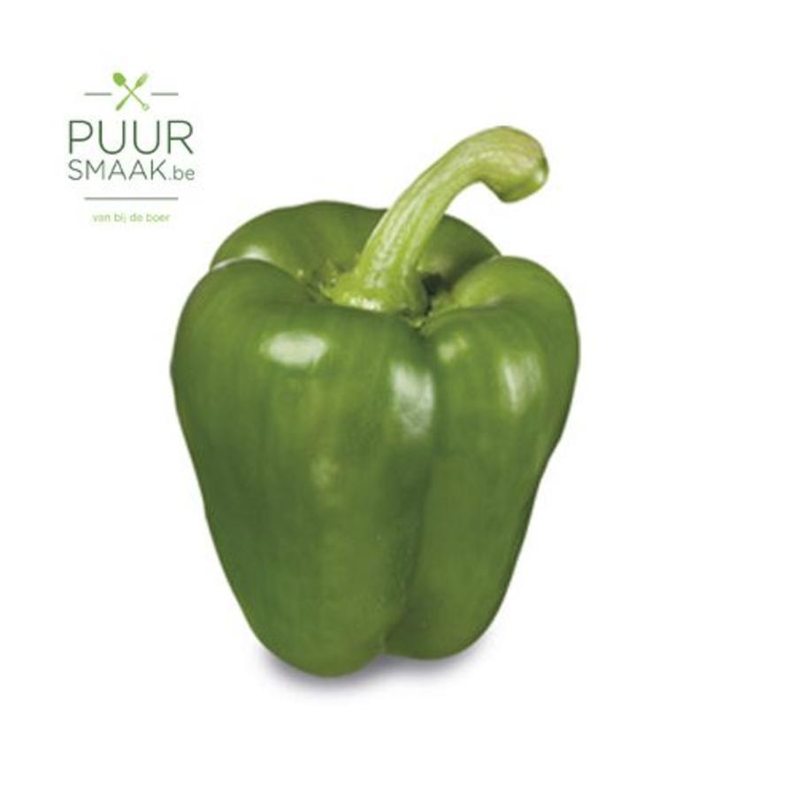 Paprika Groen Bio-1