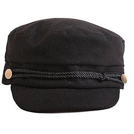 SAILOR CAP BLACK