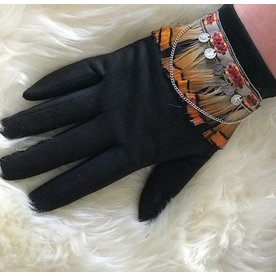PRETTY GLOVES FEATHER