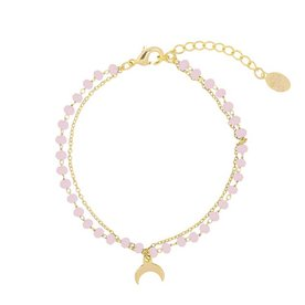 MOONLIGHT AND BEADS SOFT PINK