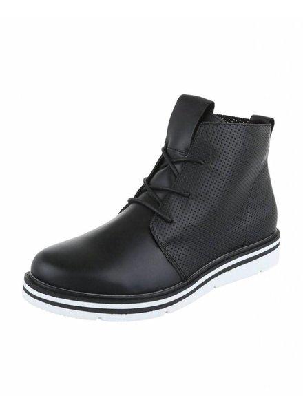 Zwarte bootie  H720