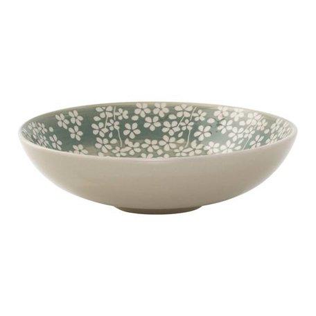 Flowers bowl Seeke green
