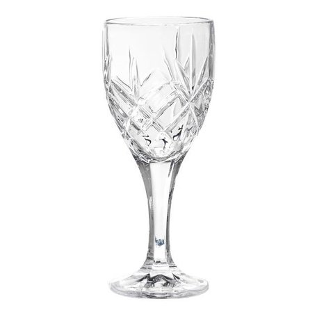 Chique wineglass crystal