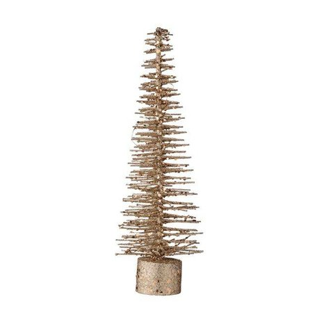 Deco christmas tree copper glitter