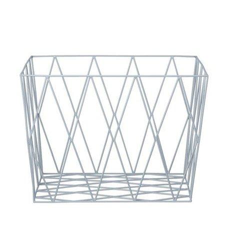 Wire basket Winter Skye