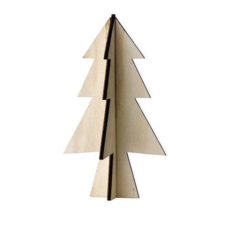 Houten kerstboom 319066