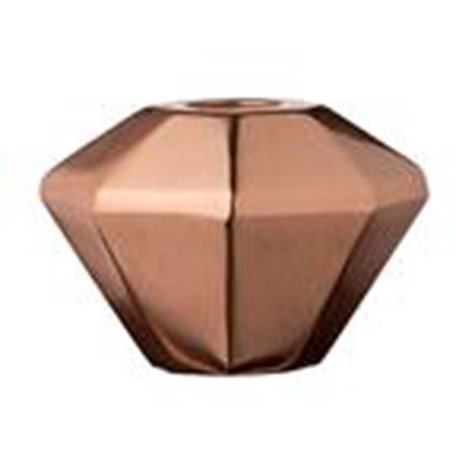 Copper candle candlestick