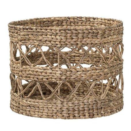 Wicker basket water hyacinth
