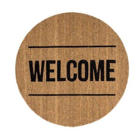 Deurmat welcome