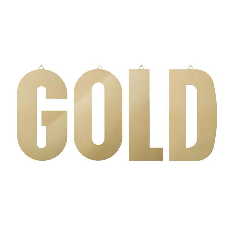 Buy golden wall decoration - SALE - Bloomingville - Livv Lifestyle