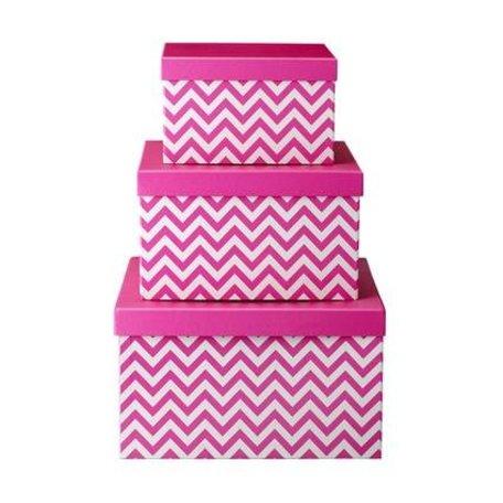 Storage boxen neon pink