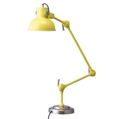 Tafellamp geel