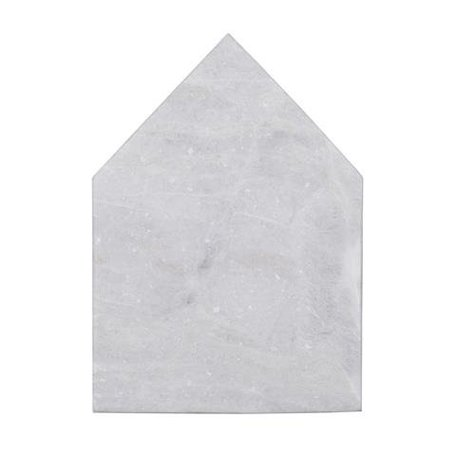 Snijplank huis - wit marmer
