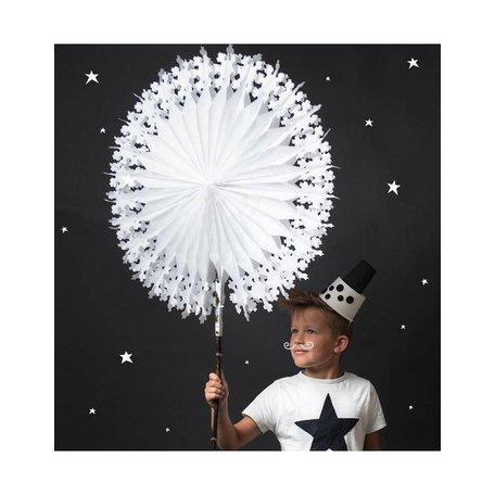 Snowflake XL - white - paper