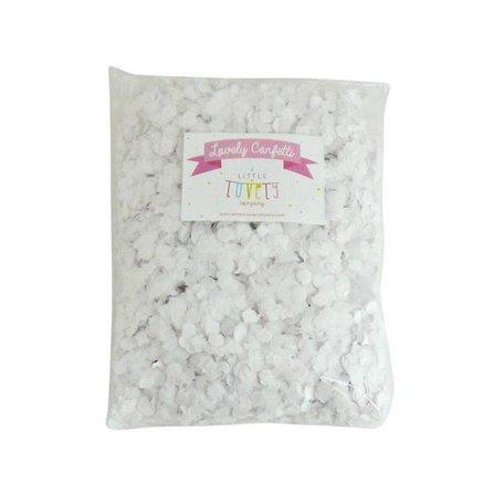 Confetti - white
