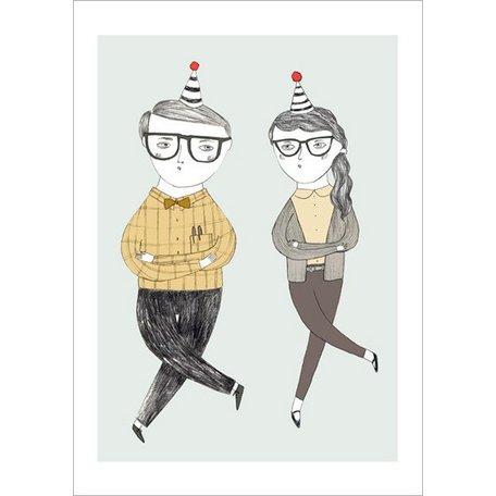 Poster dancing