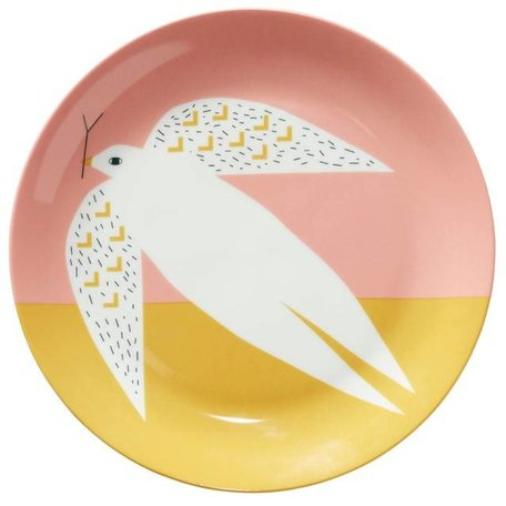 Plate - Pink Dove