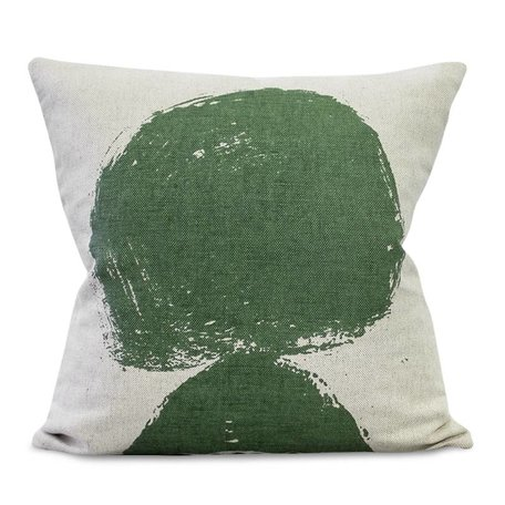 Cushion cover - Volcano Green - Linen