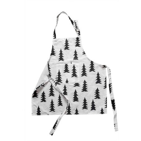 Cooking Apron Gran - Black white