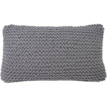 Cushion Catootje - grey - knitted