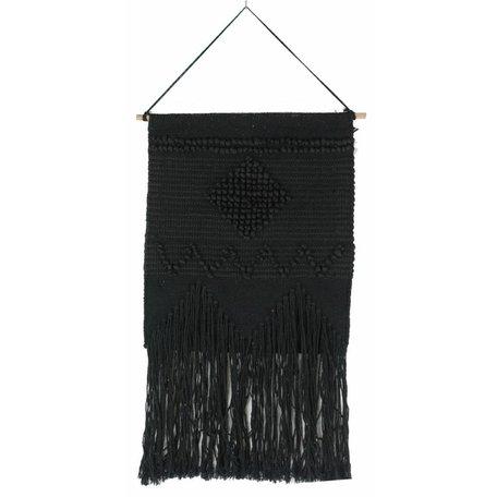 Wandkleed LJ Alicante - zwart