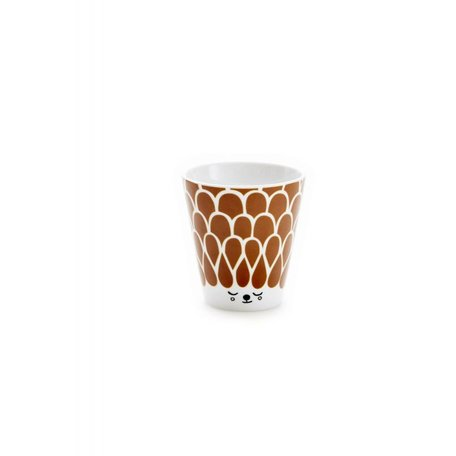 House of Rym - Cup Oh what a friendly face - Brown